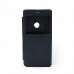 Futrola za Huawei Honor V8 preklop bez magneta sa prozorom Nillkin sparkle - crna