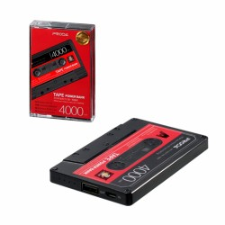 Eksterna baterija univerzalna 4.000 mAh Remax Tape PPP-15 - crna