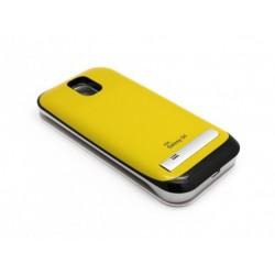 Eksterna baterija Samsung Galaxy S4 preklop bez magneta bez prozora 3.200 mAh - žuta
