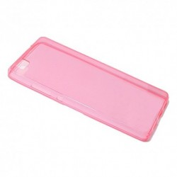 Futrola za Huawei P8 Lite leđa Ultra tanki silikon - pink