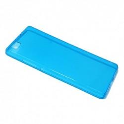 Futrola za Huawei P8 Lite leđa Ultra tanki silikon - plava