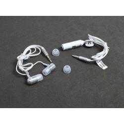 Slušalice bubice za iPhone Teracell 3,5 mm - bela