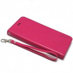 Futrola za iPhone 7 Plus/8 Plus preklop bez magneta bez prozora Mercury model 1 - pink
