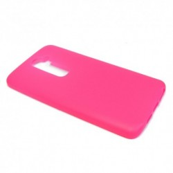 Futrola za LG G2 leđa Ultra tanki kolor silikon - pink