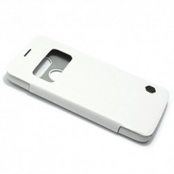 Futrola za LG G5 preklop bez magneta sa prozorom Nillkin Qin - bela