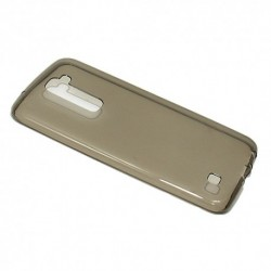 Futrola za LG K10 leđa Ultra tanki silikon - siva