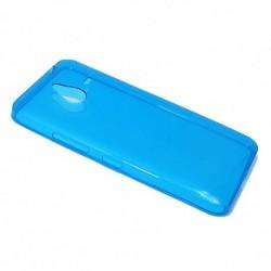 Futrola za Microsoft Lumia 640 XL leđa Ultra tanki silikon - plava