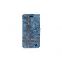 Futrola za Samsung Galaxy A3 preklop sa magnetom bez prozora Teracell Vogue Stripe - plava