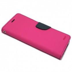 Futrola za Samsung Galaxy A7 (2016) preklop sa magnetom bez prozora Mercury - pink