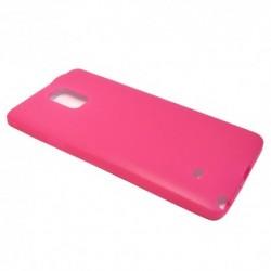 Futrola za Samsung Galaxy Note 4 leđa Ultra tanki kolor - pink