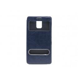 Futrola za Samsung Galaxy Note 4 preklop bez magneta sa prozorom Teracell Vogue view - plava