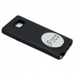 Futrola za Samsung Galaxy Note 5 leđa I-Face - crno-bela
