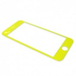 Zaštitno staklo za iPhone 6/6s Feeling touch - Žuta