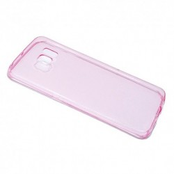 Futrola za Samsung Galaxy S6 Edge leđa Ultra tanki protect - pink