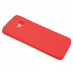 Futrola za Samsung Galaxy S6 Edge leđa Ultra tanki kolor - crvena