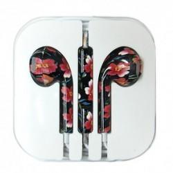 Slušalice bubice za iPhone - cvet