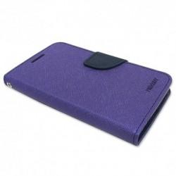Futrola za Sony Xperia E4g preklop sa magnetom bez prozora Mercury - ljubičasta