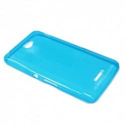 Futrola za Sony Xperia E4 leđa Ultra tanki silikon - plava