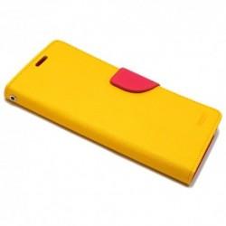 Futrola za Sony Xperia E4 preklop sa magnetom bez prozora Mercury - žuta
