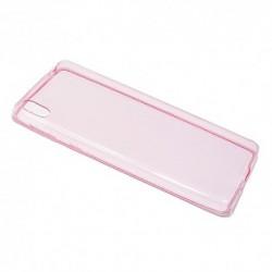 Futrola za Sony Xperia E5 leđa Ultra tanki protect - pink