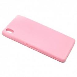 Futrola za Sony Xperia M4 Aqua leđa Ultra tanki kolor - roza