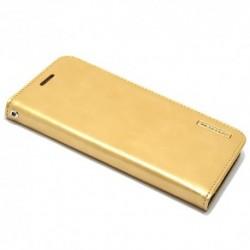Futrola za Sony Xperia M4 Aqua preklop bez magneta bez prozora Mercury model 1 - zlatna
