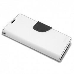 Futrola za Sony Xperia M4 Aqua preklop sa magnetom bez prozora Mercury - bela
