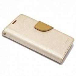 Futrola za Sony Xperia M4 Aqua preklop sa magnetom bez prozora Mercury - zlatna