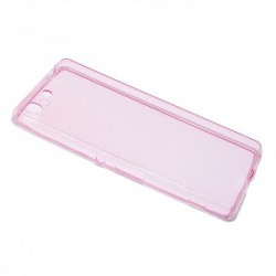 Futrola za Sony Xperia M5 leđa Ultra tanki protect - pink