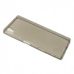 Futrola za Sony Xperia Z5 leđa Ultra tanki silikon - siva