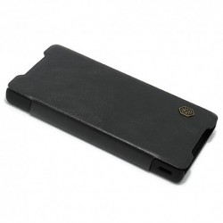 Futrola za Sony Xperia Z5 Compact preklop bez magneta bez prozora Nillkin Qin - crna