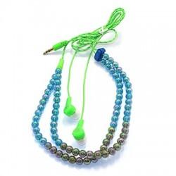 Slušalice bubice univerzalne Biser - zelena