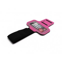 Torbica iPhone 5 oko ruke - pink