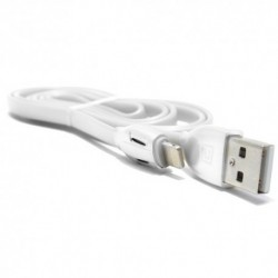 USB kabal za iPhone 5/5C/SE/6/6+/7/7+ Remax Laser 1 m - bela