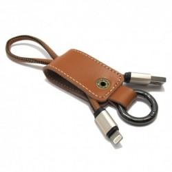 USB kabal za iPhone 5/5C/SE/6/6+/7/7+ Remax Western - braon