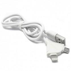 USB kabal univerzalni Remax Souffie 1 m - bela