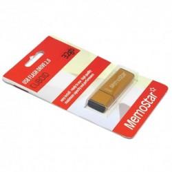 USB (flash) memorija (32Gb) MemoStar Cuboid - zlatna