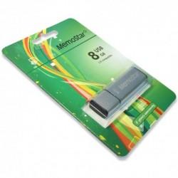 USB (flash) memorija (8Gb) MemoStar Cuboid - srebrna