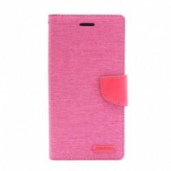 Futrola za iPhone 6 plus/6s plus preklop sa magnetom bez prozora Mercury canvas - pink