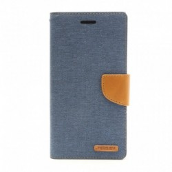 Futrola za iPhone 6 plus/6s plus preklop sa magnetom bez prozora Mercury canvas - teget