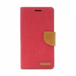 Futrola za Sony Xperia M4 Aqua preklop sa magnetom bez prozora Mercury Canvas - crvena