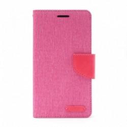 Futrola za Sony Xperia M4 Aqua preklop sa magnetom bez prozora Mercury Canvas - pink