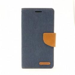 Futrola za Sony Xperia M4 Aqua preklop sa magnetom bez prozora Mercury Canvas - plava