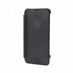 Futrola za iPhone X/XS preklop bez magneta bez prozora See Cover - crna