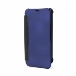 Futrola za iPhone X/XS preklop bez magneta bez prozora See Cover - plava