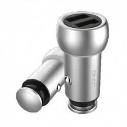Auto punjač za iPhone Ldnio C401 (3,6 A) - srebrna