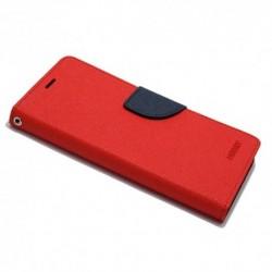 Futrola za iPhone X/XS preklop sa magnetom bez prozora Mercury - crvena