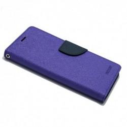 Futrola za iPhone X/XS preklop sa magnetom bez prozora Mercury - ljubičasta