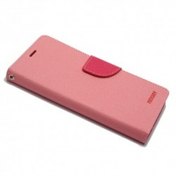 Futrola za iPhone X/XS preklop sa magnetom bez prozora Mercury - roza