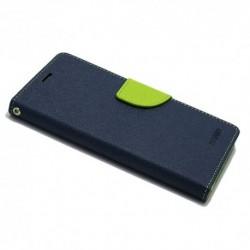 Futrola za iPhone X/XS preklop sa magnetom bez prozora Mercury - teget
